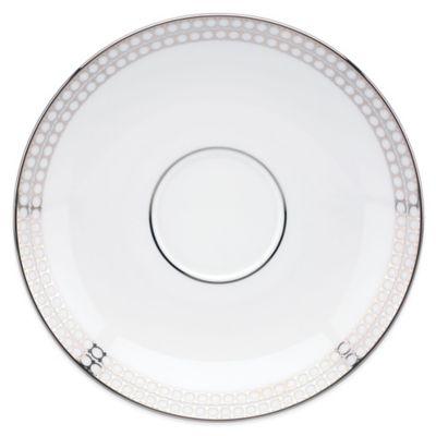 Brian Gluckstein by Lenox® Starlet Saucer in Silver