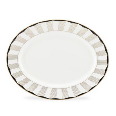 Lenox® Gluckstein Audrey Oval Platter in Gold