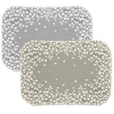 Heritage Lace® Blossom Placemat in White