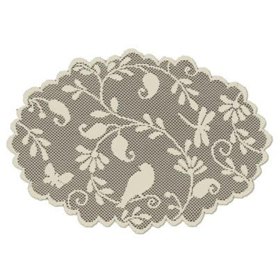 Heritage Lace® Bristol Garden Placemat in Cafe