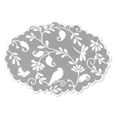 Heritage Lace® Bristol Garden Placemat in White