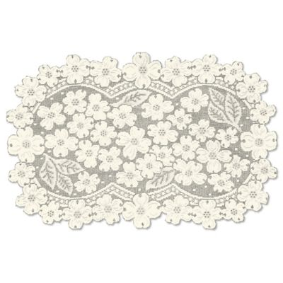 Heritage Lace® Dogwood Placemat in Ecru