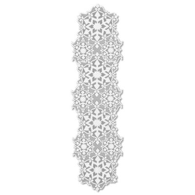Heritage Lace® Glisten 40-Inch Table Runner in Glitter/White