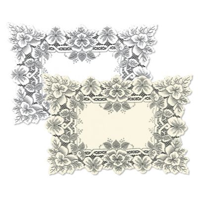Heritage Lace® Heirloom Placemat in White