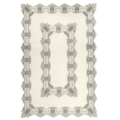 Heritage Lace® Heirloom 70-Inch x 108-Inch Rectangular Tablecloth in Ecru