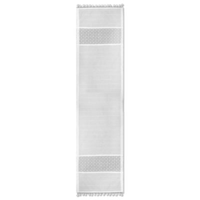 Heritage Lace® Prima 14-Inch x 36-Inch Table Runner in White