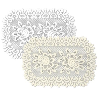 Heritage Lace Rose Placemat Dining