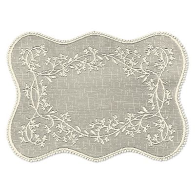 Heritage Lace® Sheer Divine Placemat in Ecru