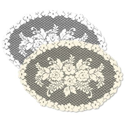 Heritage Lace® Victorian Rose Placemat in Ecru