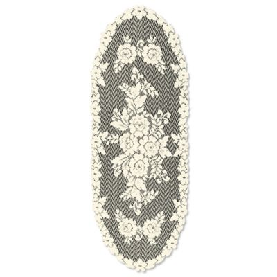 Heritage Lace® Victorian Rose 36-Inch Table Runner in Ecru