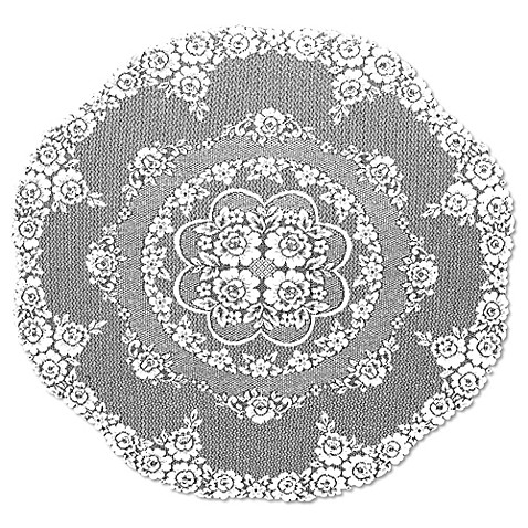 Heritage Lace 174 Victorian Rose 43 Inch Round Table Topper
