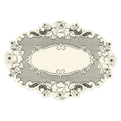 Heritage Lace® Vintage Rose Placemat in Ecru