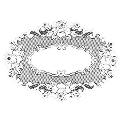 Heritage Lace® Vintage Rose Placemat in White
