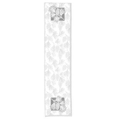 Heritage Lace® Woodland 14-Inch x 60-Inch Table Runner in White