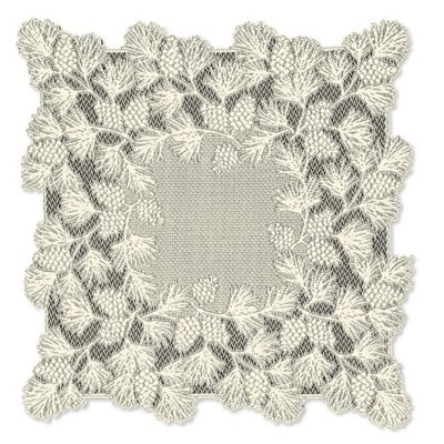Heritage Lace® Woodland 36-Inch Table Topper in Ecru