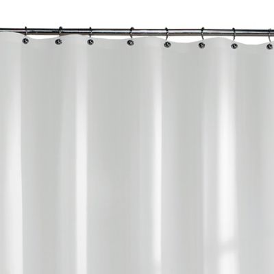 Ultimate Heavyweight 70-Inch x 72-Inch Shower Curtain Liner in White