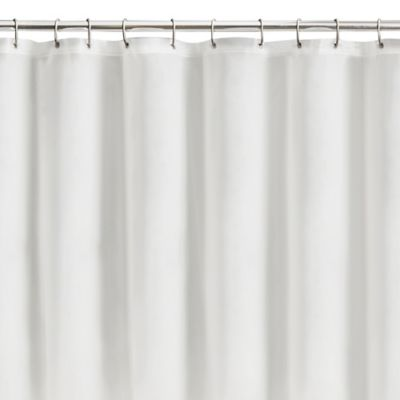 Metallic Clear Shower Curtains