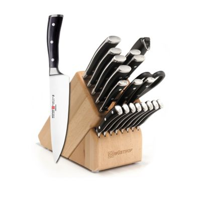 Wusthof® Classic Ikon 22-Piece Mega Knife Block Set