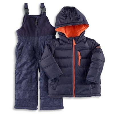 OshKosh B'Gosh® Size 4T 2-Piece Hooded Snowsuit Jacket and Pant Set in Navy