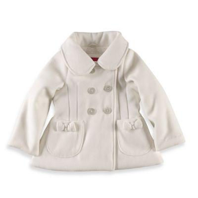 London Fog® Size 18M Fancy Swing Coat in Ivory