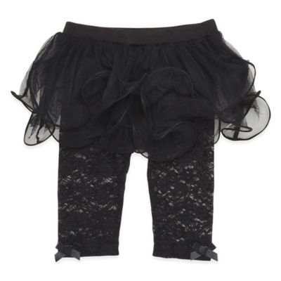 Baby Starters® Size 3M Tutu Pant in Black