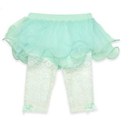 Baby Starters® Size 9M Tutu Pant in Turquoise/White
