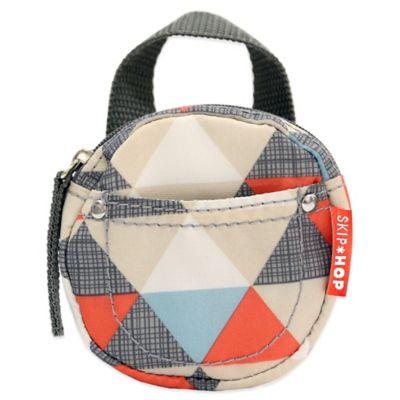 SKIP*HOP® Pacifier Pocket in Multicolor Triangles