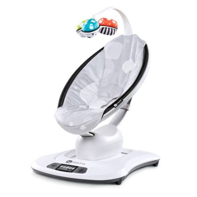 4moms® mamaRoo® Plush Infant Seat in Silver