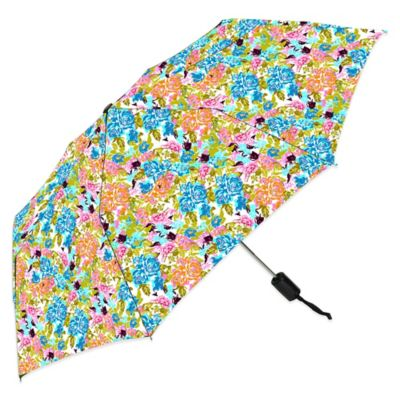 Auto Open Compact Fashion Rain Umbrella in Popina