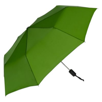 Auto Open Compact Umbrella in Grassy