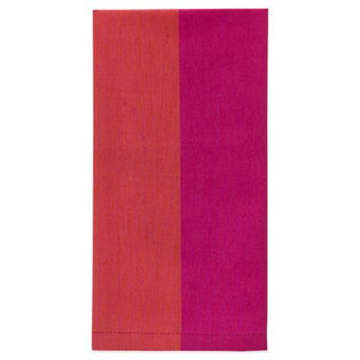 kate spade new york Cary Street Napkin in Hot Pink