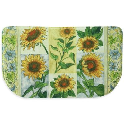 Bacova Sun Worshippers Memory Foam Rug Kitchen