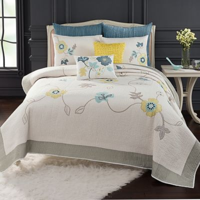 Citron Vine Standard Pillow Sham