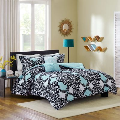 Black and White Bed Comforters