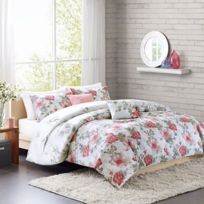 Cozy Soft® Beaumont Reversible 4-Piece Twin/Twin XL Comforter Set