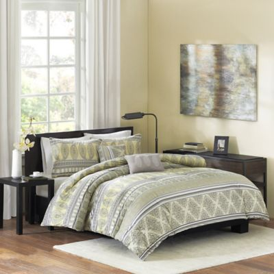 Cozy Soft® Misha Reversible 5-Piece Full/Queen Comforter Set