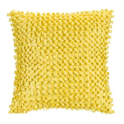 Citron Vine Square Throw Pillow