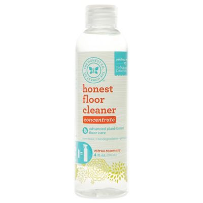 Honest 4 oz. Citrus Rosemary Floor Spray Cleaner Refill