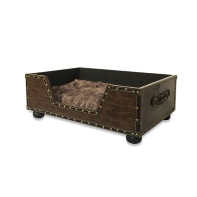 Bombay™ Brentwood Trunk Pet Bed in Brown