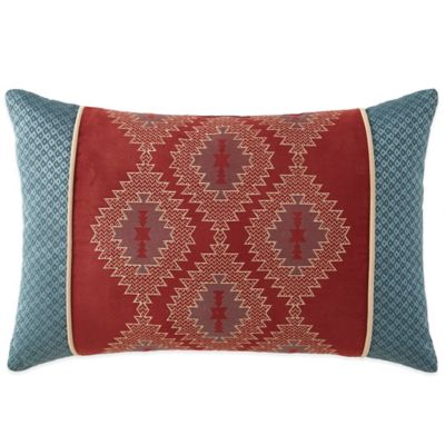 Canyon River Geometric Diamonds Oblong Throw Pillow