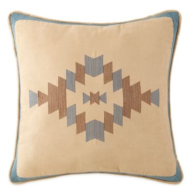 Canyon River Geometric Diamonds Square Throw Pillow