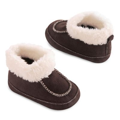 goldbug™ Size 0-6M Moccasin Bootie in Brown