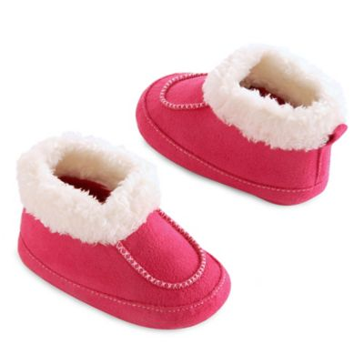 goldbug™ Size 0-6M Moccasin Bootie in Pink