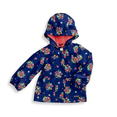 carter's® Size 4T Midweight Floral Jacket in Navy