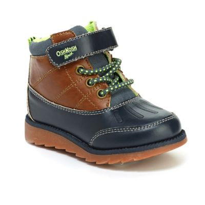 OshKosh B'gosh® AJ Size 5 Duck Boot in Navy