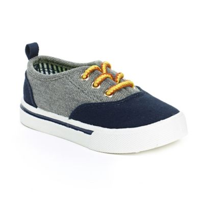 OshKosh B'gosh® Christopher Size 5 Casual Shoe in Grey/Navy