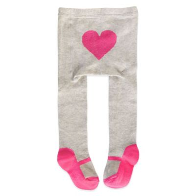 Carter's® Size 0-9M Pink Mary Jane Tights in Grey