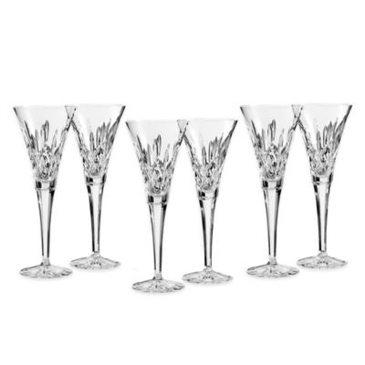 Waterford® Lismore Toasting Flutes (Set of 6)