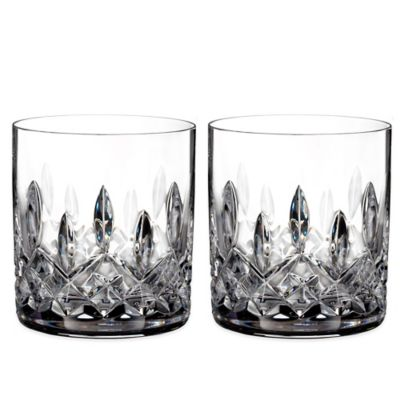 Waterford Lismore Straight Sided Tumblers (Set of 2)