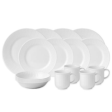 Wedgwood 174 Nantucket Basket 16 Piece Dinnerware Set Www